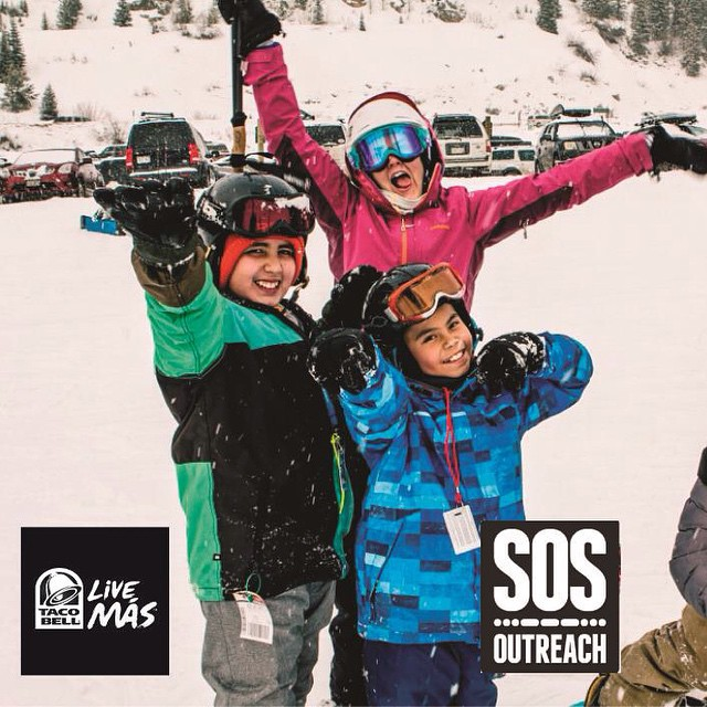 SOS is partnering with @tacobell to create a scholarship fund for local youth in Colorado.  Round up your TBell purchase through Apr15 at locations in #Eagle #Frisco #GlenwoodSprings and #Rifle #Colorado to get kids outside! | #eaglecounty...
