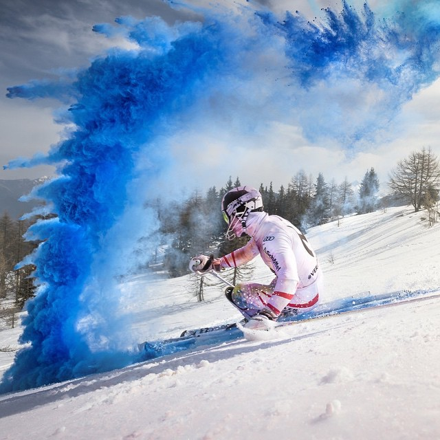 Color run! @marcel__hirscher