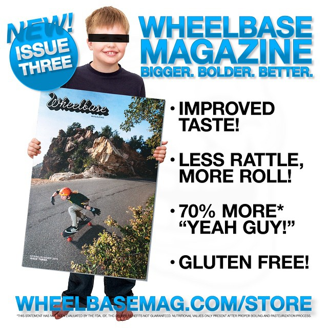 Stoked the new #wheelbase mag is out! Can't wait to open one up @wheelbasemag #skateboarding