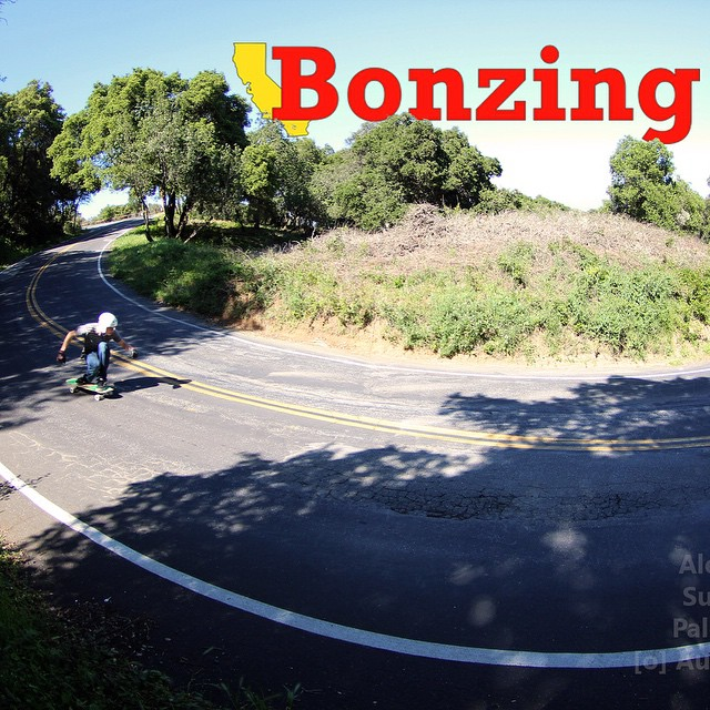 For Wallpaper Wednesday: April we capture AM Team rider Alex Sucala--@sucalaalex hitting a beautiful Northern California hairpin!  Get the full high resolution photograph for your background from the link in our bio!  #alexsucala #bonzing #superfatty...