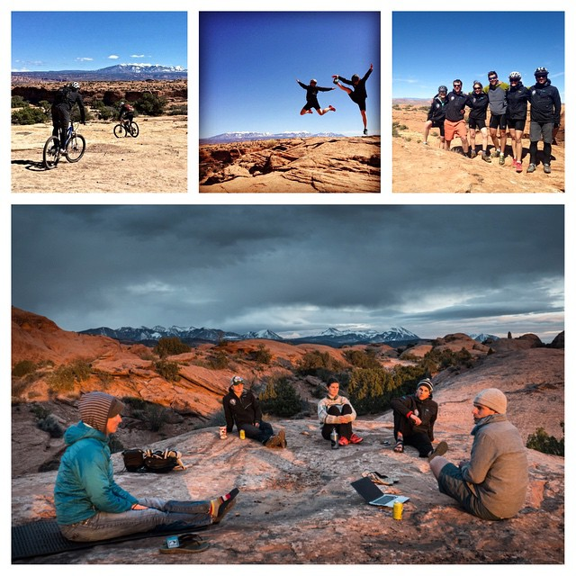 Our staff retreat was rich with adventures, challenges and collaborative planning for the future of ASC. We love the red rock desert.  #staffretreat #visionandstrategy #mountainbiking #moab #adventurescience