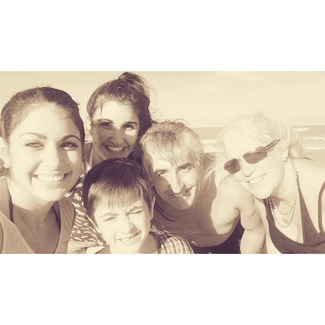 Para toda la vidaa. #love #happy  #family #familia #instabeach #instamoment #playa #praia #beach  #NuevaAtlantis #amarlos