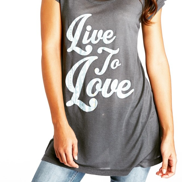 Live to love {in #organic and #recycled fabrics}. #live #love #happiness #spring #new #style #fashion