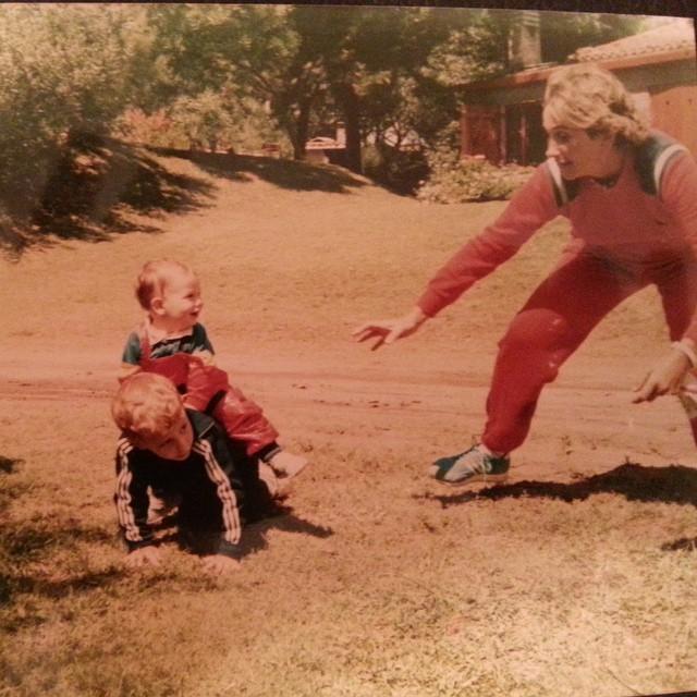 #tbt La foto que capturó un momento espectacular. Villa Gesell 1987