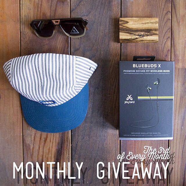 Today's the last day to enter our Monthly IG Giveaway!  We teamed up with our friends at @jaybirdsport for our Monthly Instagram Giveaway!  Winner will receive: The Donner Sunglasses ($125 value), Block Wood Wallet ($20 value), Ruth 5 Paneli Hat ($25...