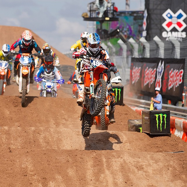 Defending Motocross Enduro X gold medalist @kacymartinez496 has confirmed that she will compete at ‪#‎XGames Austin this June. (