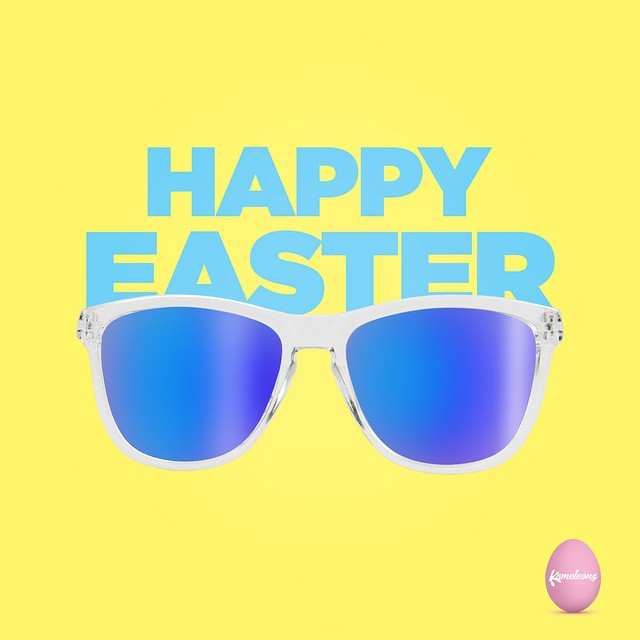 Happy Easter Weekend! Hop on over to Kameleonz.com to get 15% off storewide when you use promo code 'EASTERBUNNY'
