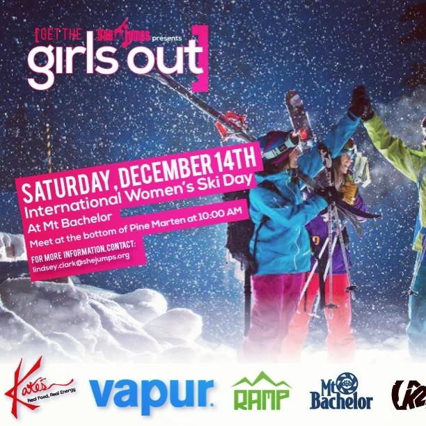 Boom, the list for International Women's Ski Day events keeps growing. #IWSD @mtbachelor @k2_ski_alliance @rampsports @kates_real_food @vapur