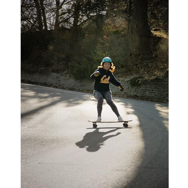 @cindyzskates attacking her shadow on the #Tesseract