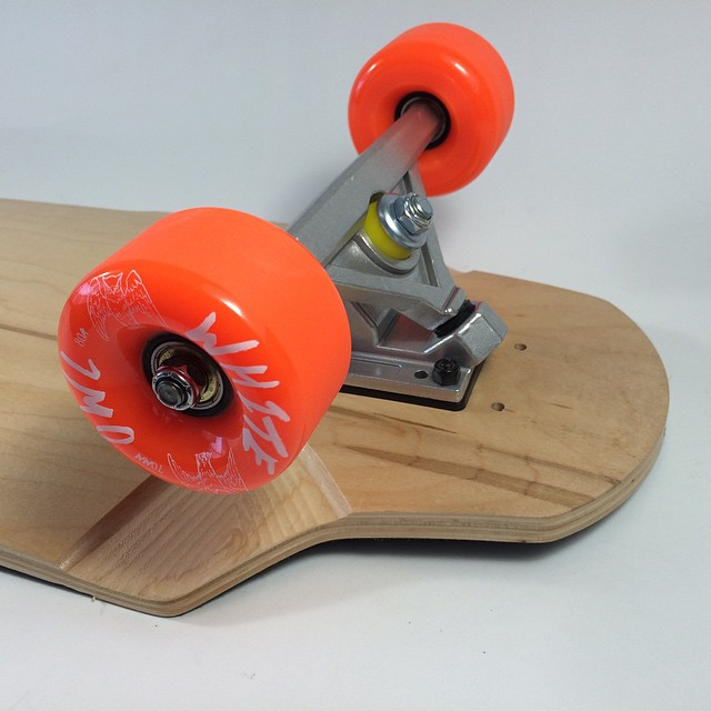 The #v2 #brick is here. 8 ply #canadian #maple #cnc wheel wells and flat #truck perches. This little baby is sick. Check #funboxdist for more info #longboard #longboarding #skatelife #skateshop #skateboarding #downhill #freeride #concretewave #getbuck...