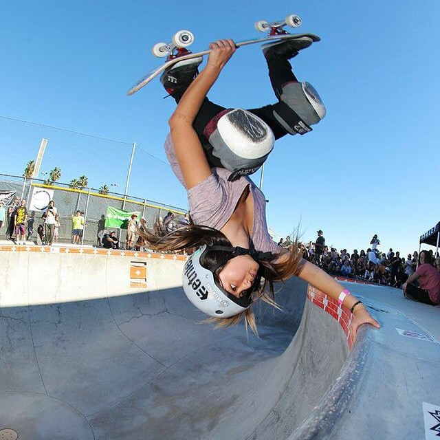 @allyshabergado getting inverted @encinitassk8park at last years #EXPOSURE. Can't wait to see all the amazing skating that will happen this year #EXPOSURE2015 in November!