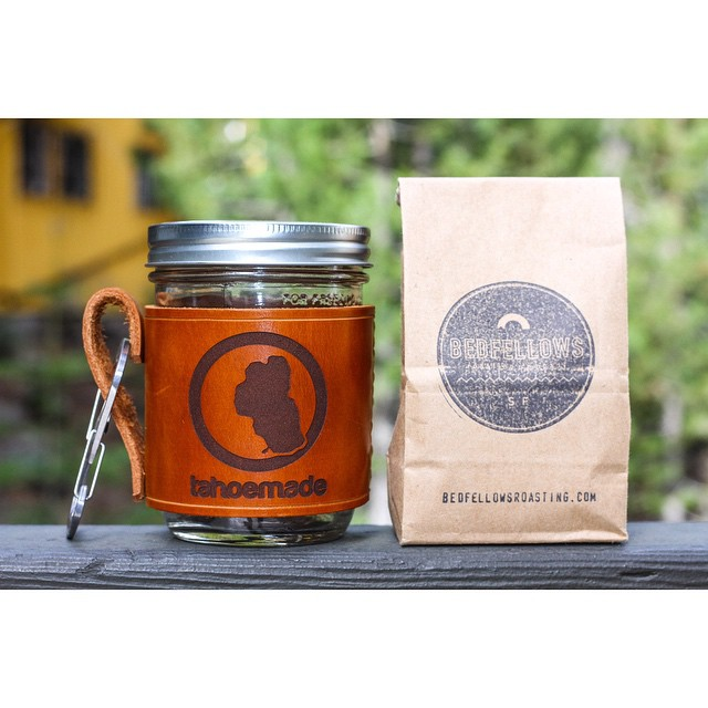 CONGRATULATIONS to our winner, miss @zoeanderson13 , who's being shipped a half pound of fresh roasted coffee from @bedfellowsroasting and our leather mason jar holder. Thanks to all those who participated, we had some seriously ridiculous comments....
