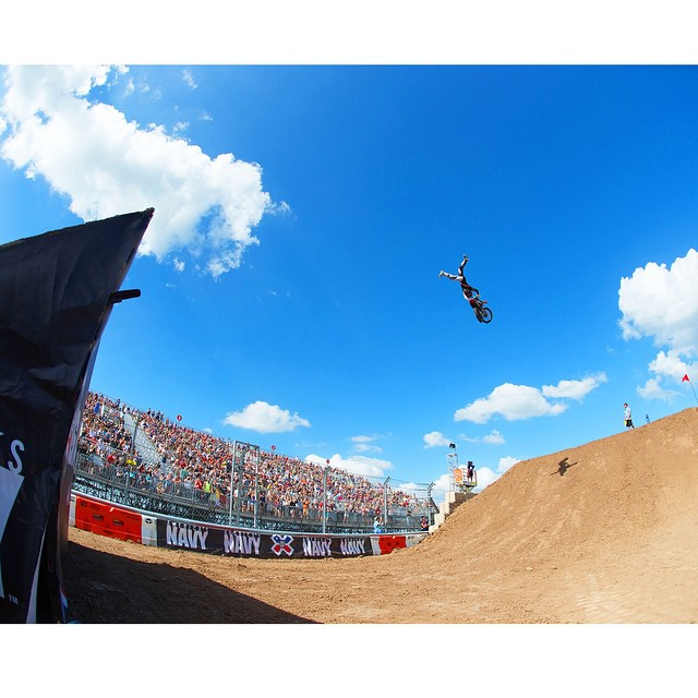 Two-time defending #XGames Moto X Speed & Style silver medalist @bilkofmx turned 30 years old today. (