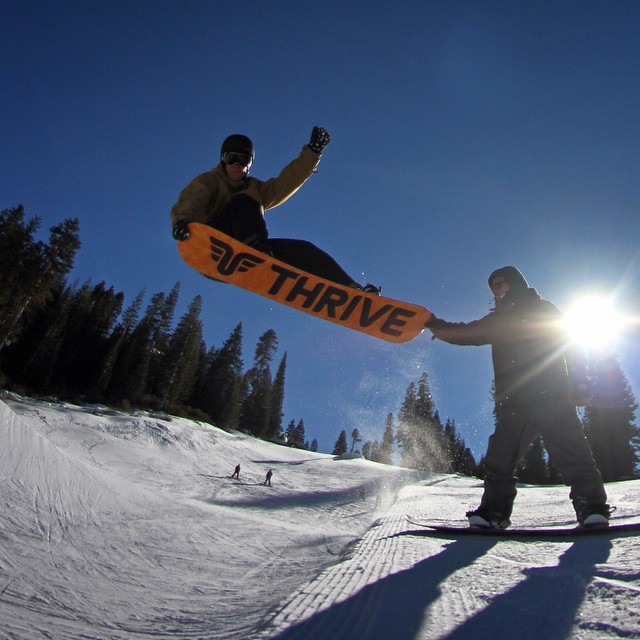 Keeping it creative in the #halfpipe @skinorthstar #doublegrab #nose #tail @blake_tahoe @shutter_steez #teamsport
