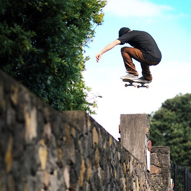 This is what walls are made for!  #revbalance #balance #boarding #skateboard #skateboarder #calilife  #skateboarding #scalethewall #skatelife #skater #thisjump #thistrick  #boardsports #rideit #rideordie #pnw #ride #RollWithIt #instagood #picoftheday...