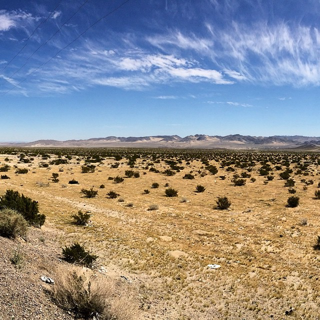 It's a big world out there. Explore it! #uluLAGOON #wanderlust #mojave #ca