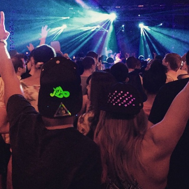 SPOTTED: E5 #snapbacks in the crowd for Alesso's performance at Echostage in Washington DC last night