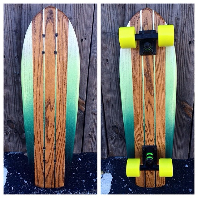 """""""The Elixir"""" cruiser just went live! That teal fade is one of our classics"""