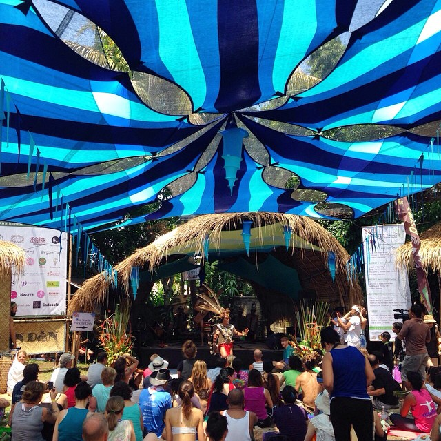High Vibes at Bali Spirit Fest Day 5, come see us in the Dharma Fair ✌️ #Ubud #thisisBali #BaliSpiritFest #BSF2015 #soleswithsoul