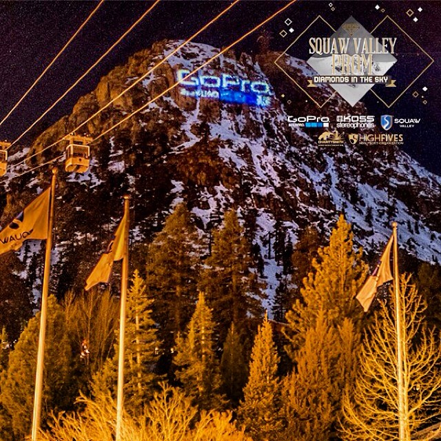 Be A Hero! Buy your date a ticket to the 2014 #SquawValleyProm! Thank you to this year's title sponsors: @gopro | @koss | @squawvalley Tickets on sale at squawvalleyprom.com