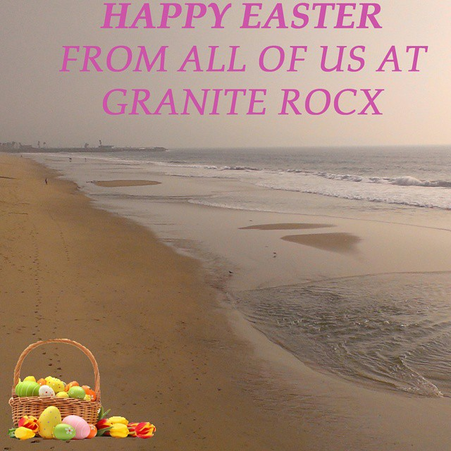 Happy Easter!  #easter2015 #easterbunny #eastereggs #getoutdoors #beach #graniterocx