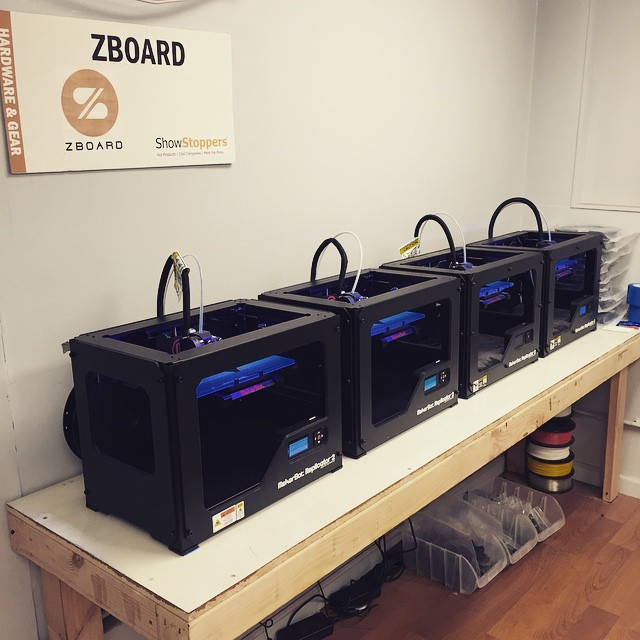 3D Printing farm is coming together! They work all day Sunday so we don't have to!