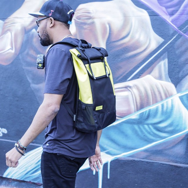 RZA of the Wu-Tang Clan his weeks #FTW giveaway features this Custom #WuTang Prospect Backpack from our friends over at @timbuk2! Enter to win by clicking the link in our bio