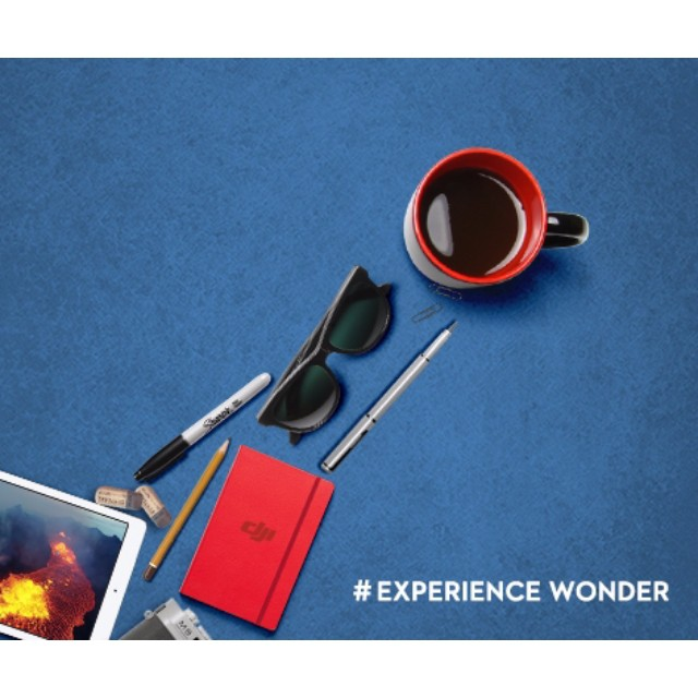 Steady as you go! A coffee to start the day, a photo to change your life. Join us on Apr 8, 11:30pm (US, Eastern Daylight Time) for the #DJI livestream to #experiencewonder