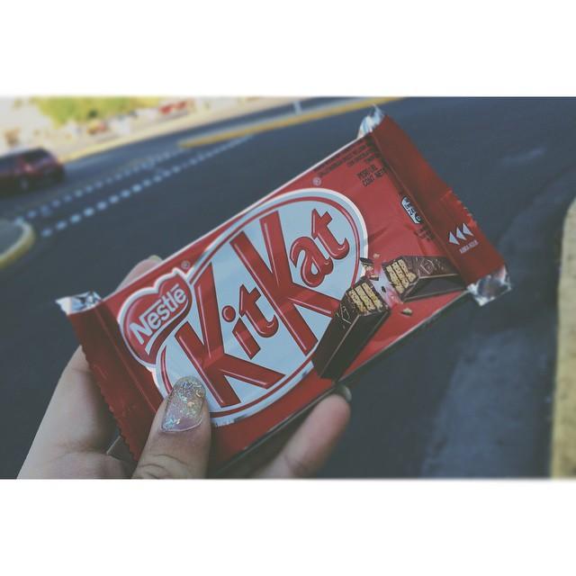 Llego #kitkat a la argentina!!! No tengo que extorsionar a mas nadie para que me los traiga
