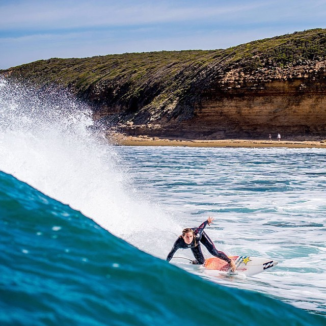 Have you been tuning in? Ripping #TeamB4BC surfer @courtneyconlogue made it through to the quarterfinals at #BellsBeach—catch the action at www.worldsurfleague.com to watch live!  Photo: @billabongwomens  #behealthygetactive #courtneyconlogue #RipCurlPro