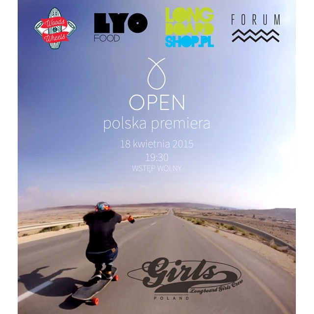 Time for POLAND! We proudly announce that LGC Poland is hosting the OPEN -by @danieletura- premiere on April 18 during the longboard tradeshow Woods&Wheels.  Go to longboardgirlscrew.com for all details of a day full of activities including contests,...