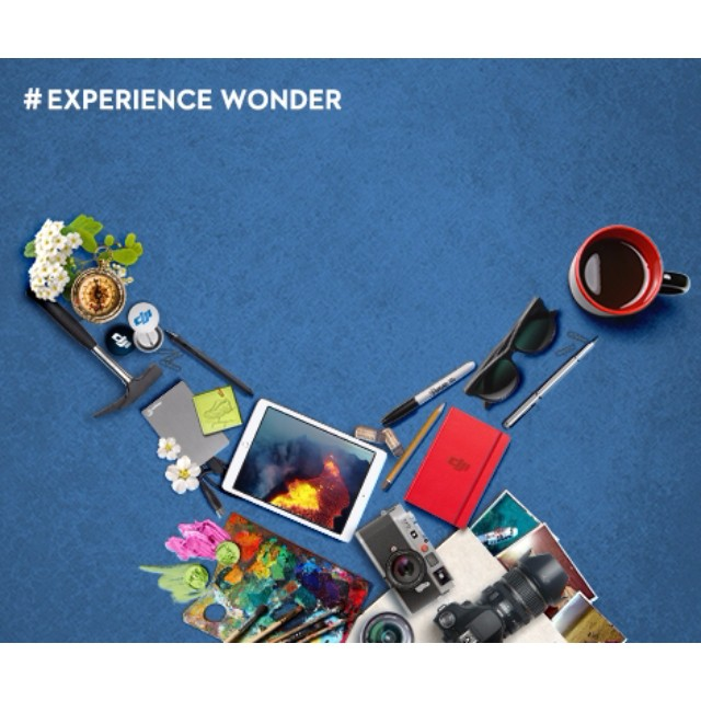 Join us for a game changing experience.  In less than 24 hours you too will #experiencewonder with #DJI
