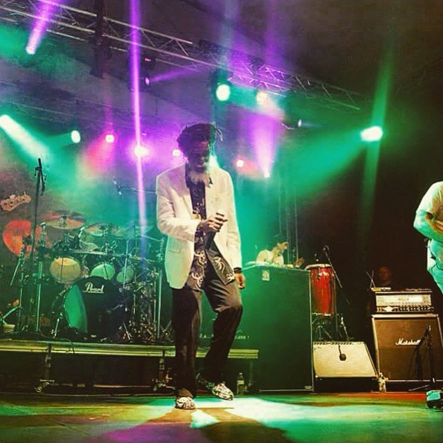 Groovin to that downbeat w/ Reggae legend @doncarlosusa in his Black Palm Prahu Shoes  #DonCarlos #BlackUhuru #ThisisCostaRica #Rasta #PrahuShoe #Indolife #indosole #soleswithsoul #goodhumancrew
