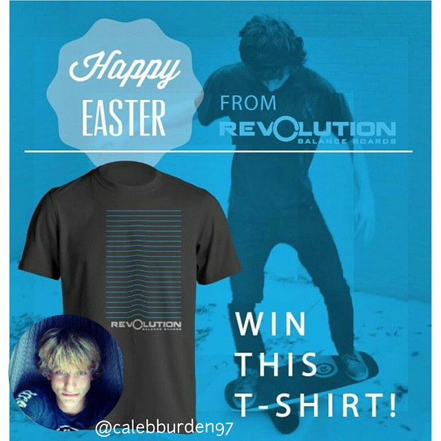 Big thanks to everyone who entered our Easter tshirt giveaway!  Happy to announce that the winner is @calebburden97  #revbalance #findyourbalance #ride #ski #skate #skateboarding #SkateLife #SkatePark #skimboard #skateboard #skaterlife #skimboarder...