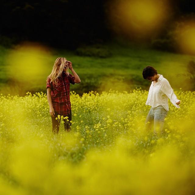 Mustard fields with my favorite rain dancer @mikaylakwik photo by @chris_delorenzo