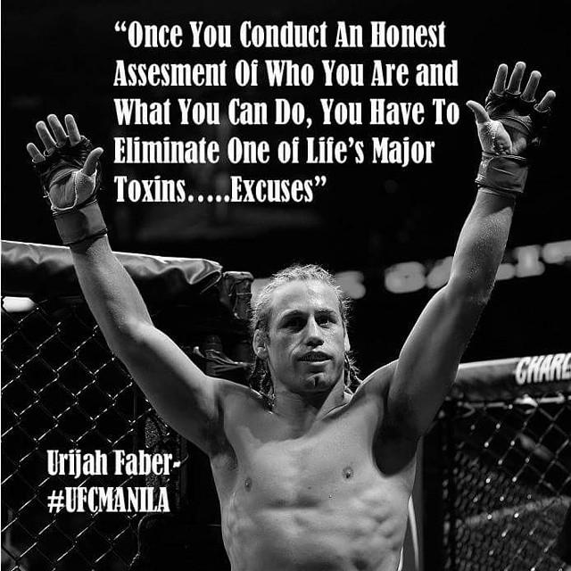 Little late night inspirational quote from UFC Faber!  #latenight #inspirationalquotes #revbalance #findyourbalance #train #trainingday #ufc #mma #faber #noexcuses #workhard #workhardplayhard #beyou #balance #balanceboard
