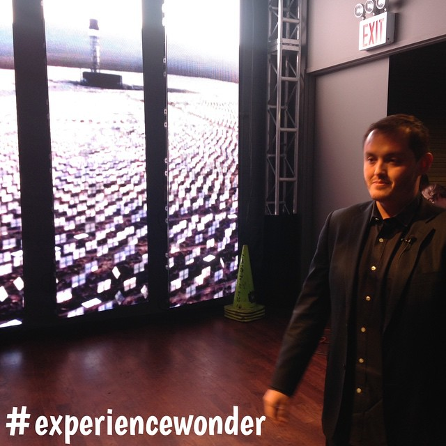 Quick BTS shot of the #DJI #experiencewonder event in #NewYork. Don't forget to join our livestream at www.dji.com