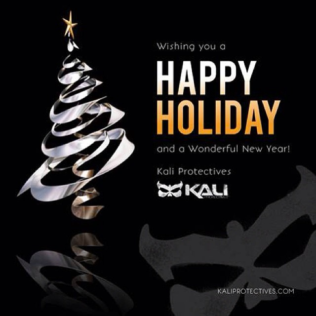 Happy Holidays from Kali Protectives! #happyholidays #kaliprotectives #kalipro #kali