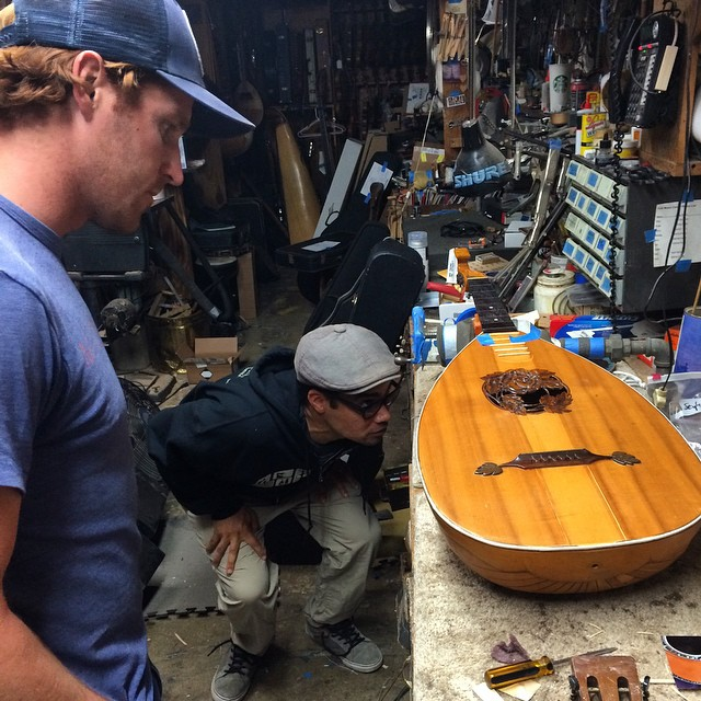 We had the chance to hang with Joel Harper earlier this week at his family's owned and operated Folk Music Center in Claremont, CA. Talking music and ocean pollution, we hit the streets for some skating as well. With a clear passion for music and the...
