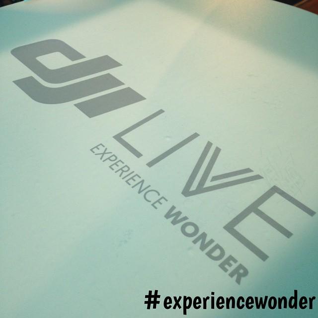 Half an hour left until the #DJI livestream to #experiencewonder. www.dji.com (1130 US EST)