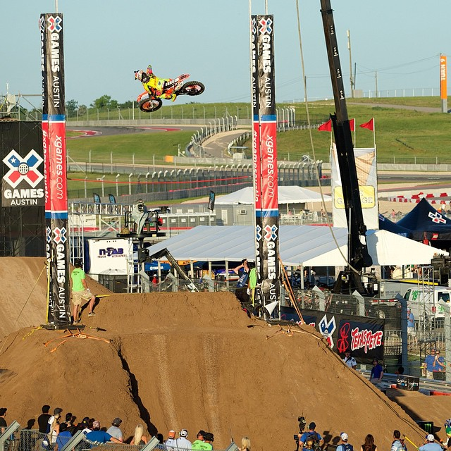 #XGames Austin Moto X Disciplines • Best Whip • Enduro X • Quarterpipe • Speed & Style • Step Up