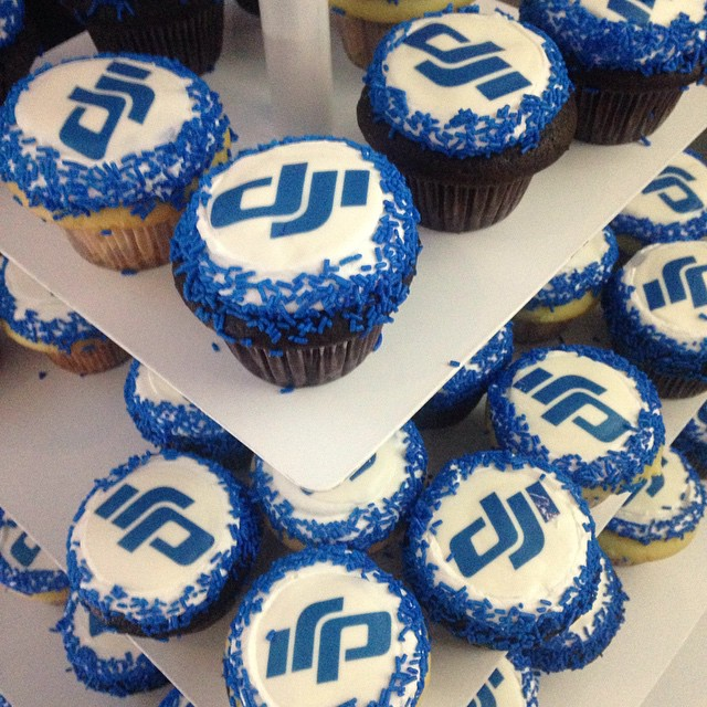 Have a cupcake as you #experiencewonder with #DJI. #phantom3 #4k