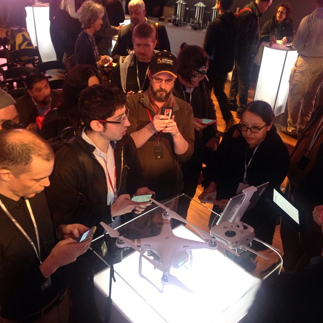 To #experiencewonder, you need to see it live. Join us at #nab2015 Apr 13-16. #DJI #phantom3