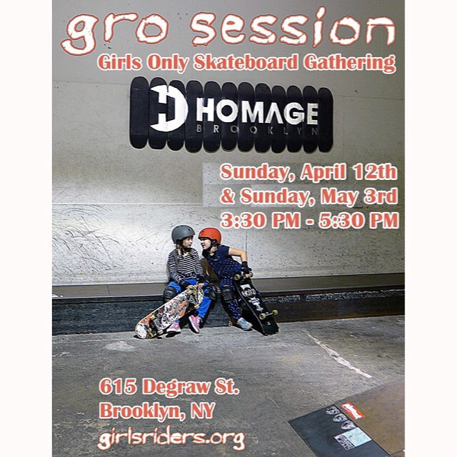 Beginner session this Sunday @homage_brooklyn #ridetrue #groNYC