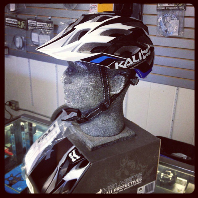 Kali Amara on display at Cambria Bike! #kali #kalipro #kaliprotectives #kalihelmets #amara #bike #cambriabike #kaligear