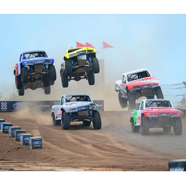 #XGames Austin Racing Disciplines • Off-Road Truck • RallyCross
