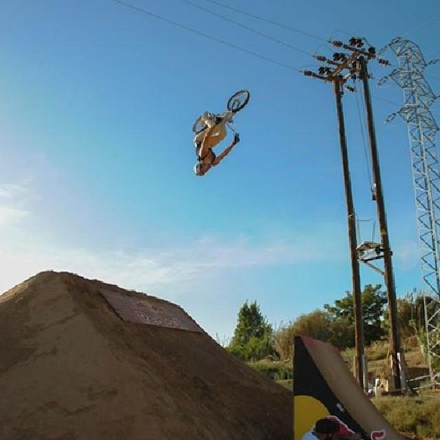 Sweet flip! #2013happyride #kali # kalipro #kaliprotectives #kalihelmets #protectivegear #bike #flip