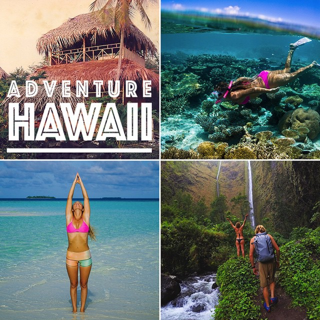 @AlisonsAdventures is launching a HAWAII ADVENTURE this year that anyone can join in on!  Join Alison and her wild parents for a week-long adventure at their oceanfront grass shack in Hawaii.  Experience surfing, snorkeling, hula dancing, fresh local...