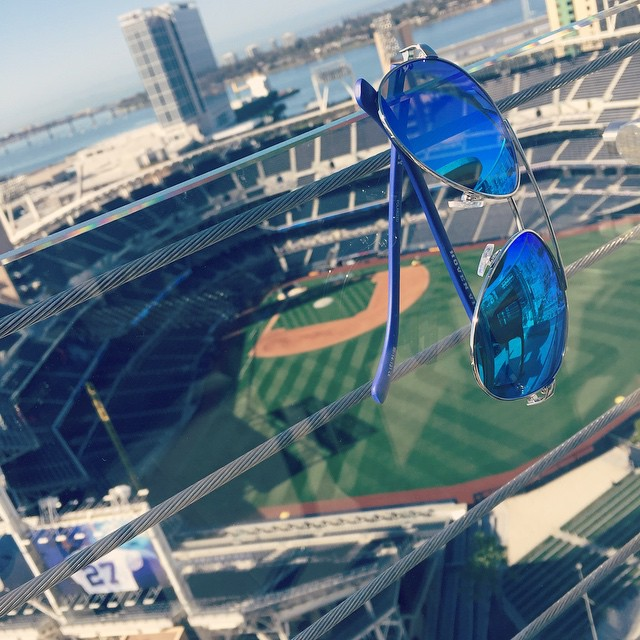 It's #SDOpeningDay here in San Diego. Giving away a pair of my favorite #hovenvision shades, the Dueys. #SanDiego #Giveaway