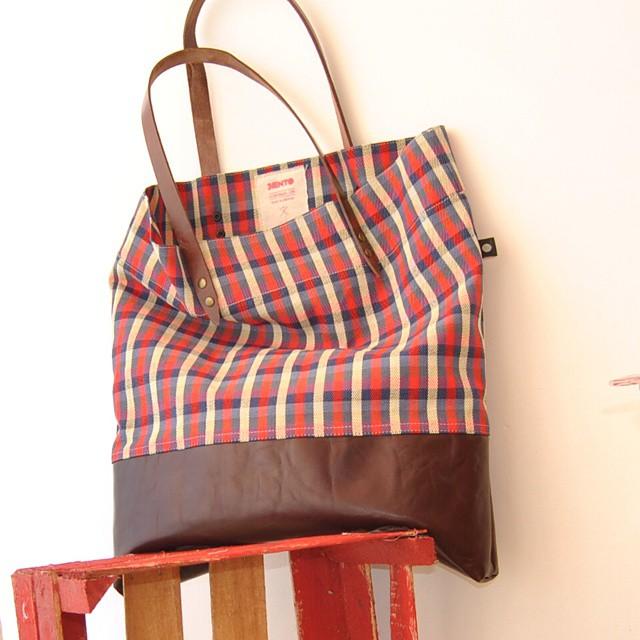 #lumberjack style  #sientobags #totebag #lifestyle #markettote #fashion